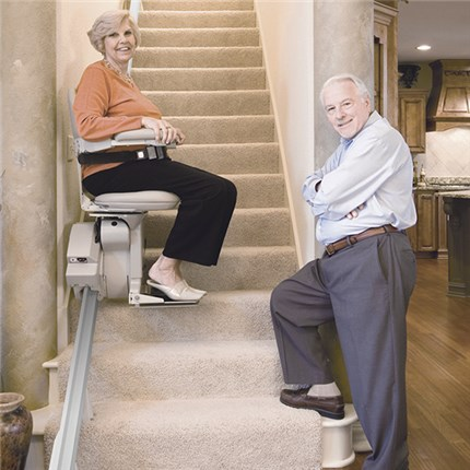 Mediequip Elite Indoor Straight Rail Stair Lift